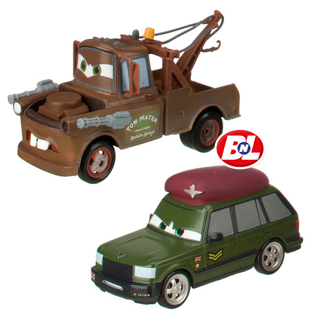 WELCOME ON BUY N LARGE: Cars 2: Radiator Springs To The