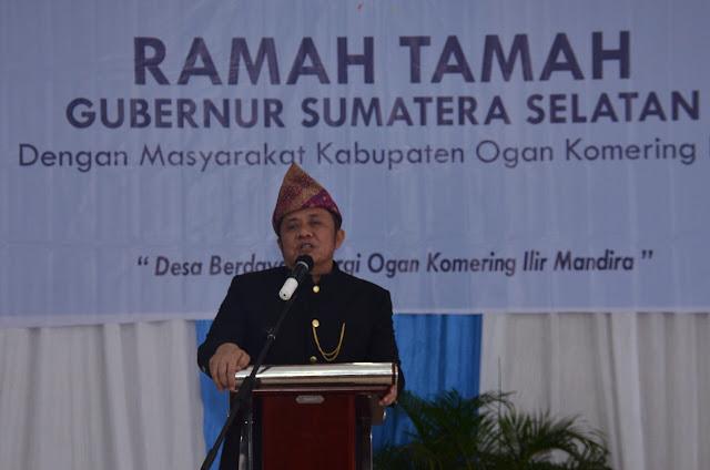 Gubernur Janji Perbaiki Jalan Provinsi di Kabupaten OKI