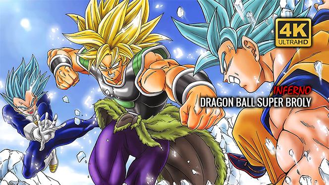 Dragon Ball Super (2018) UHD 4K 2160p Japonés-Inglés Sub Español