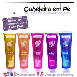 Condicionadores Coloridos (Libélula, Leãozinho, Borboleta, Salamandra Mexicana e Salmçao) - Kamaleão Color (Low Poo)