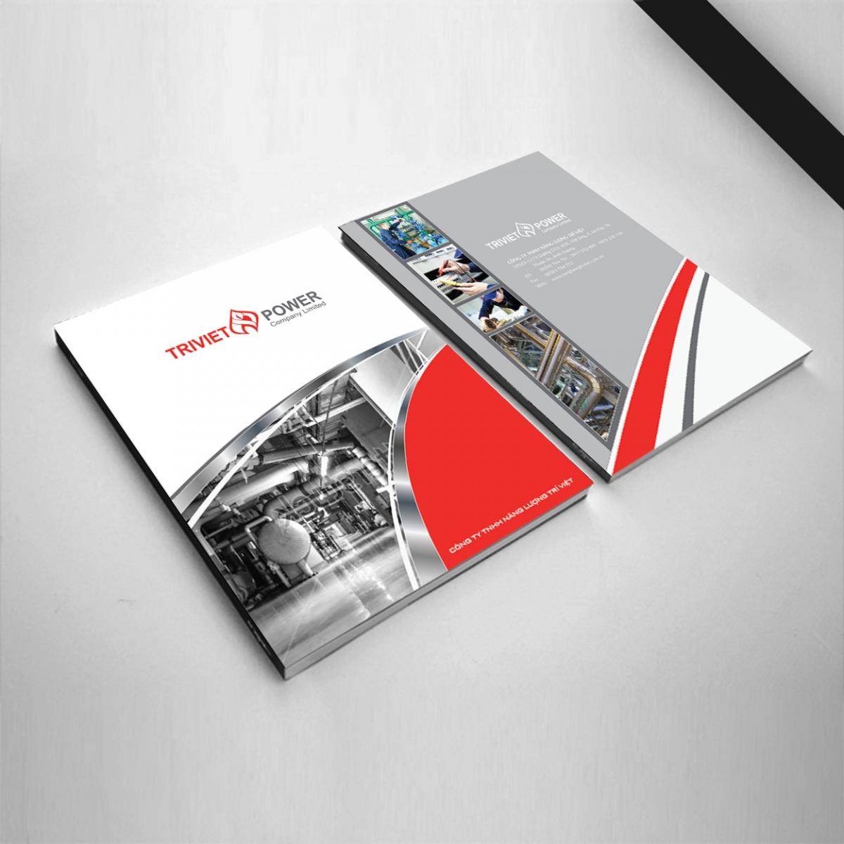 In profile công ty đẹp, hồ sơ năng lực, sách giới thiệu công ty TriVietPower