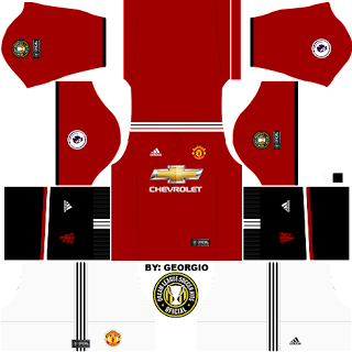 Dream League Soccer Kits  Manchester United (Completo) 17 18 - DLS18 ... 26205c1975565