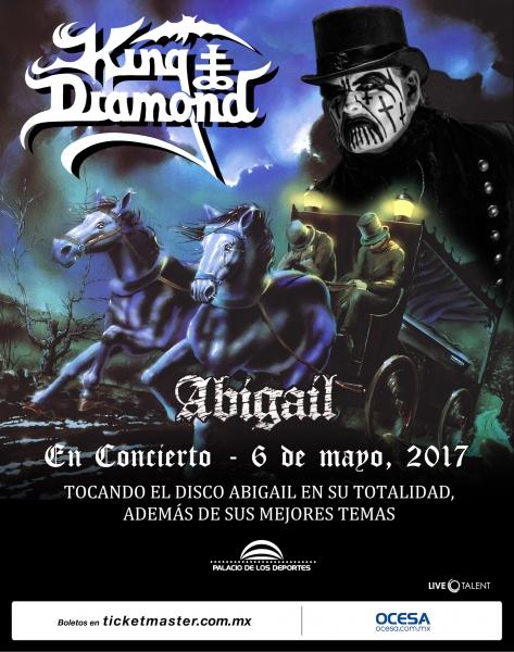 King Diamond en México