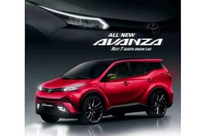 Desain All-New Toyota Avanza Generasi Terbaru. Sumber : otospirit