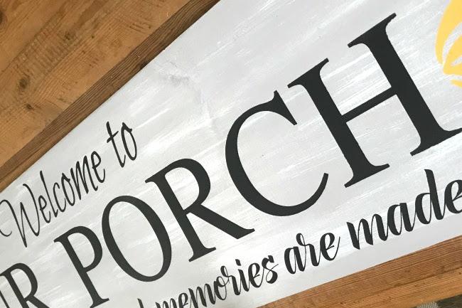 How to Make a Custom Porch Sign