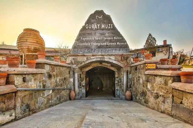 kapadokya yeraltı seramik müzesi