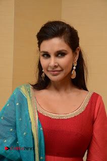 Actress Lisa Rey Stills in Salwar Kameez at Veerappan Movie Pressmeet  0002.JPG
