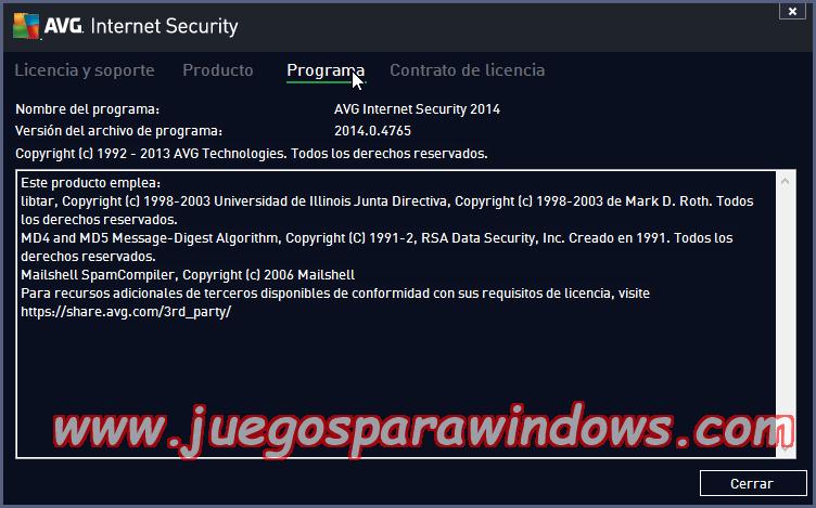 AVG Internet Security v2014.0.4765 Multilenguaje ESPAÑOL Protección Total Para Tu PC 12