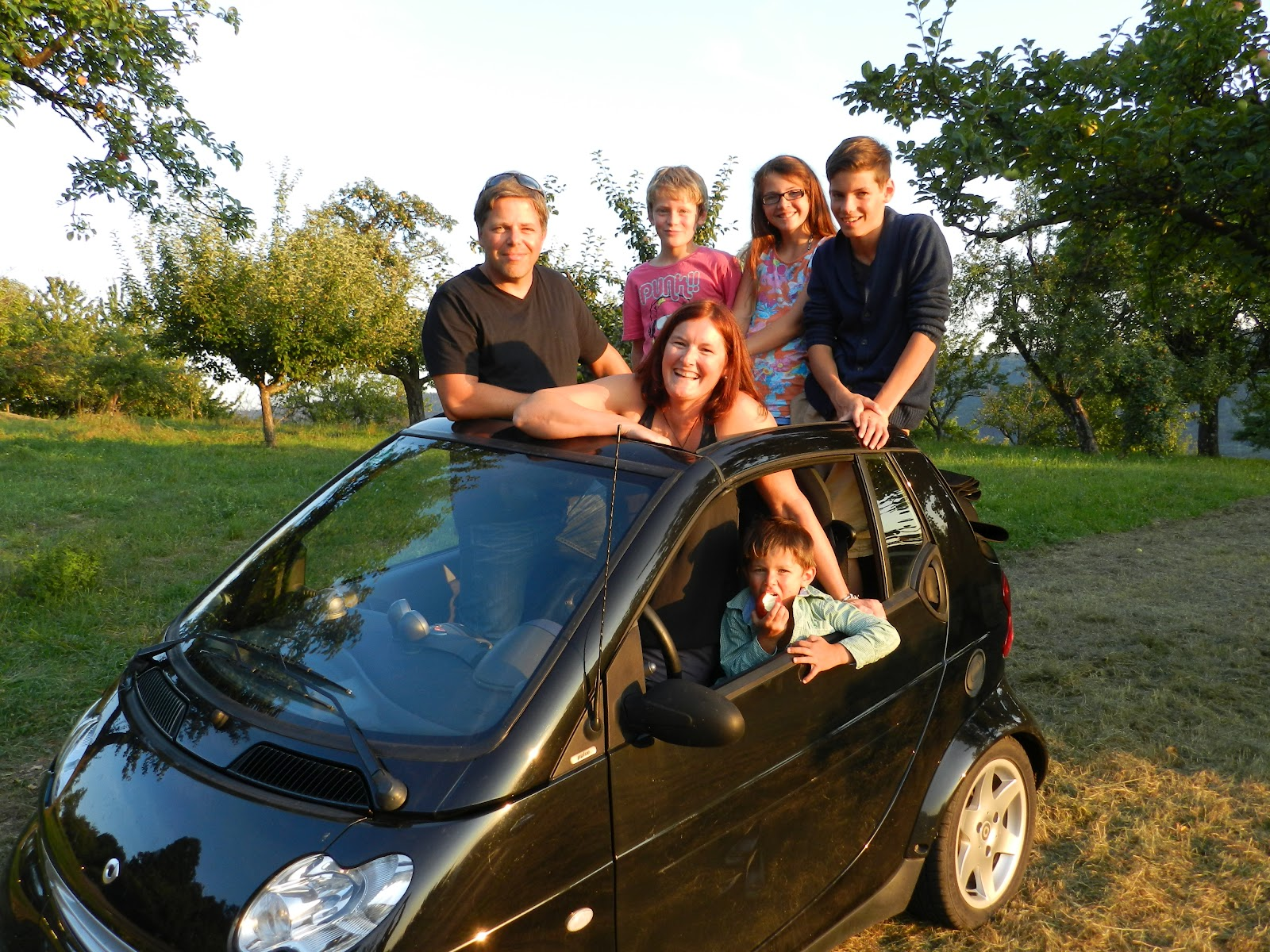 Rae's Blog: Big Family Small Car