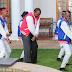 Picha: Rais Kenyatta Akicheza na Ku-Dab na Kundi la FBI.