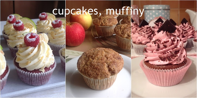 Cupcakes, muffiny