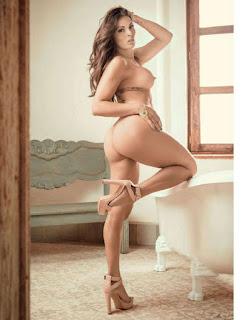 """Alejandra Rivera """"La Jarocha"""" En la revista Playboy México del mes de junio del 2016"""