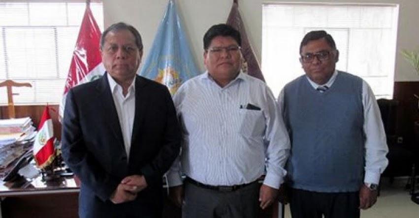 GRE Arequipa y DRE Madre de Dios se reúnen para intercambiar experiencias en gestión