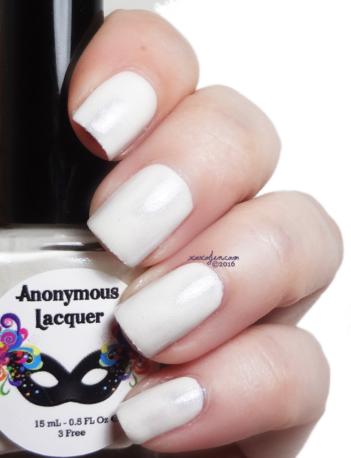xoxoJen's swatch of Anonymous Lacquer Bridezilla