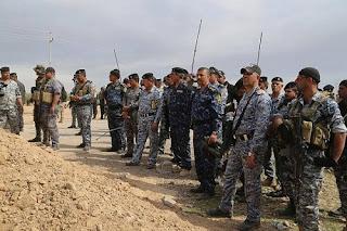 قوات الشرطة العراقية الأتحادية تعلن جهزيتها لخوض معركة تحرير الحويجة و قضاء القائم غرب محافظة الأنبار