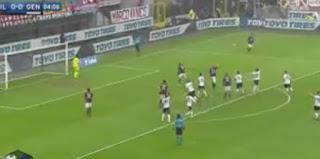 اهداف مباراة ميلان وجنوى 2-1 الدورى الايطالى