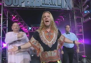 WCW Superbrawl IX - Chris Jericho w/ Ralphus & Scott Dickinson