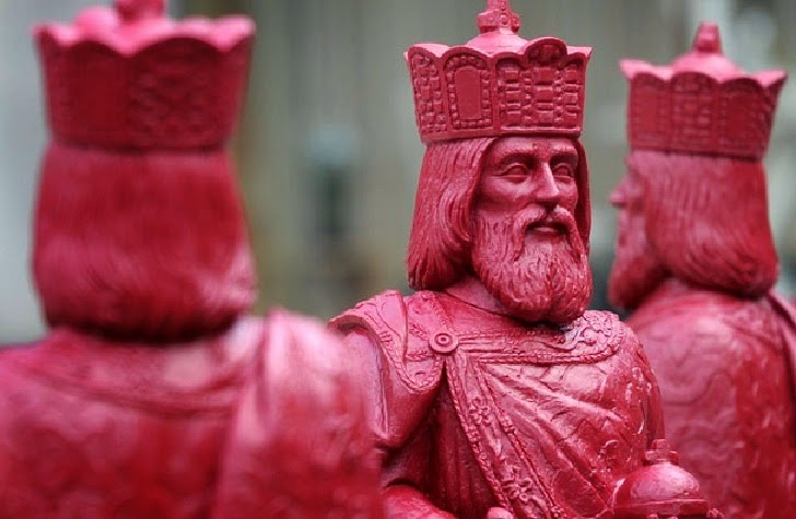 Three exhibitions on Charlemagne in Germany