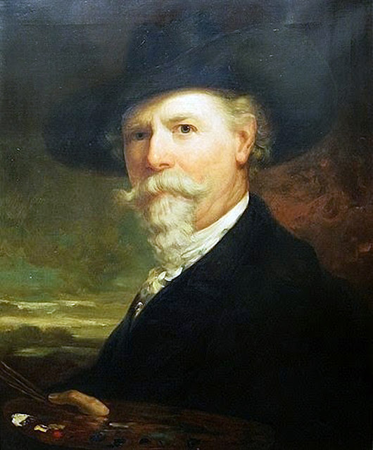 George Henry Story, Self Portrait, Portraits of Painters, George Henry, Fine arts, Portraits of painters blog, Paintings of George Henry, Painter George Henry