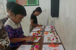Paktik Membuat Karya Seni 3 Dimensi, Kelas 3B SD Labschool Unnes