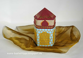 orientalischer Palast mit Stampin Up Produkten als Laterne