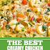 The Best Creamy Chicken Tortellini Soup #chicken #soup