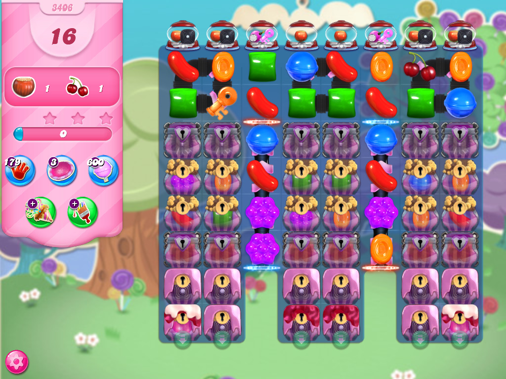 Candy Crush Saga level 3406