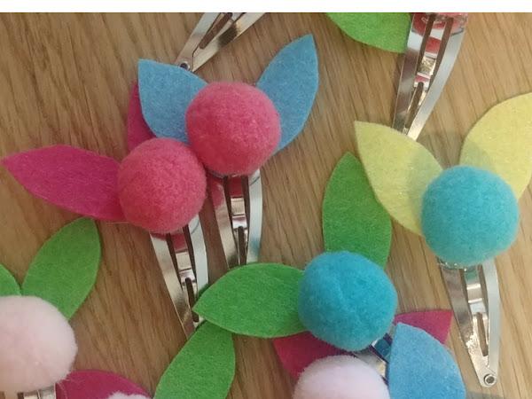 Back to School #10 - Des barettes fleuries par milliers