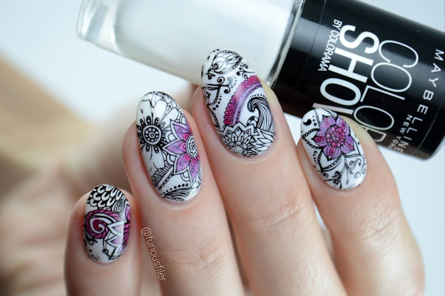 #3dc2016 colouring book doodles furious filer nailart