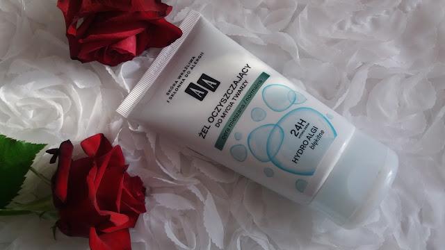 AA Żel oczyszczający do mycia twarzy Cera normalna/mieszana z serii Hydro Algi błękitne.