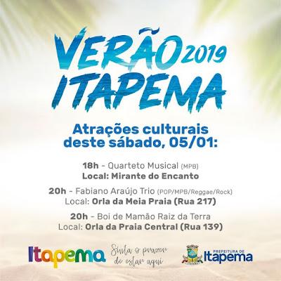 PROJETO VERÃO 2019 ITAPEMA