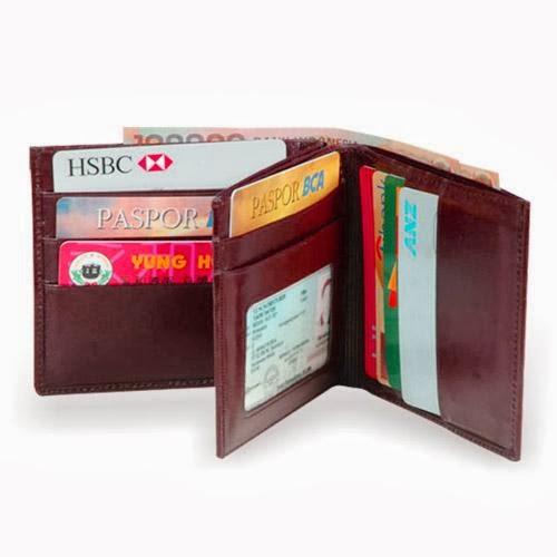 dompet pria kulit asli