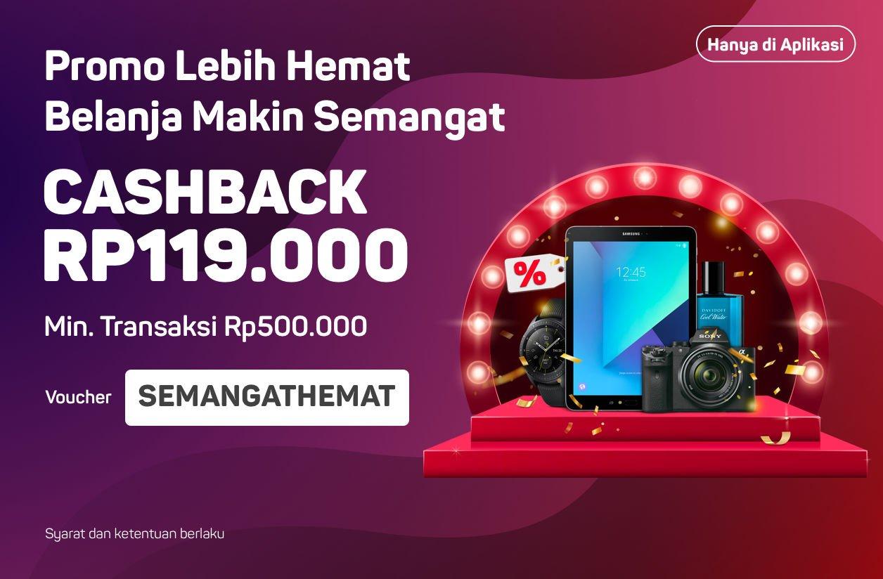 #Bukalapak - Promo Voucher Cashback 119K Sambut Tahun Baru 2019 (s.d 09 Jan 2019)