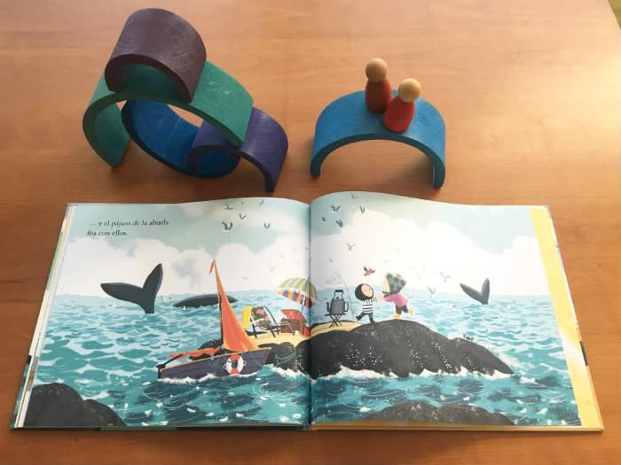 educación emocional niños cuentos curso, El pájaro de la abuela benji davies
