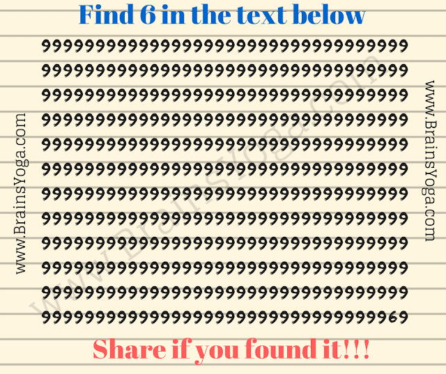 Picture Puzzle of finding hidden number