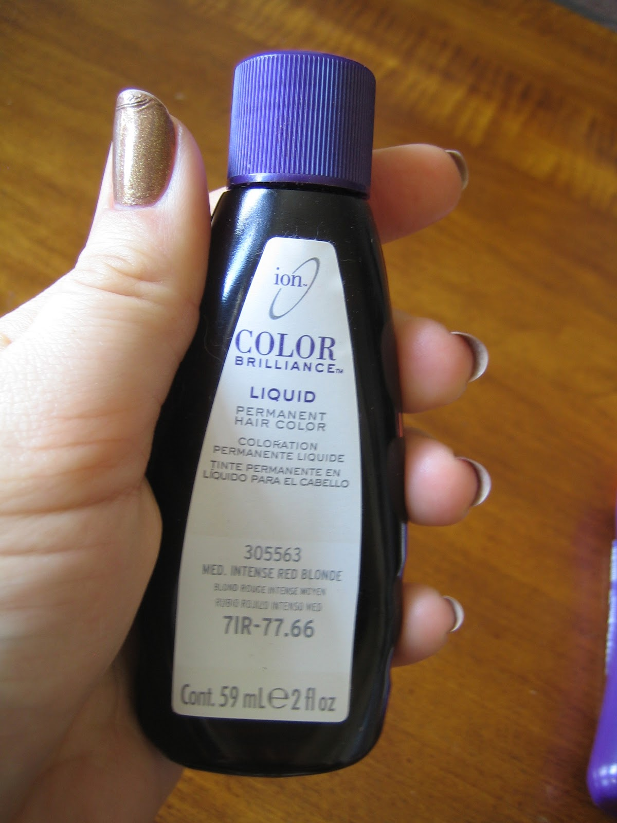 The bottle of dye itself also bower blisse review and tips ion color brilliance liquid hair rh bowerofblissespot