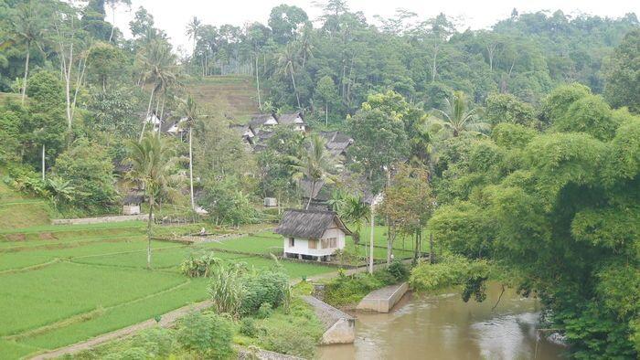 kampung naga landscape