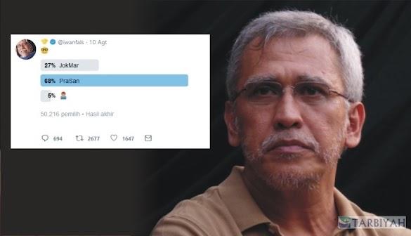 Prabowo - Sandi Menang di Polling Buatannya, Begini Komentar Iwan Fals