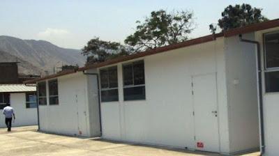 Colegios de Huarochirí recibirán aulas prefabricadas del MINEDU