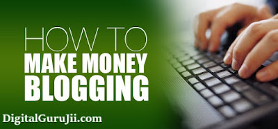 Earn money by blogging