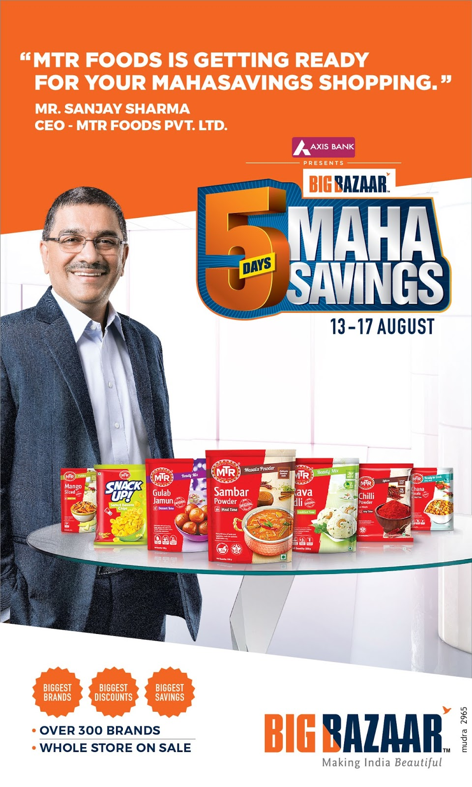 "be201cf99c Big Bazaar joins hands with the biggest brands for ""Hum Taiyaar Hain""  Campaign"
