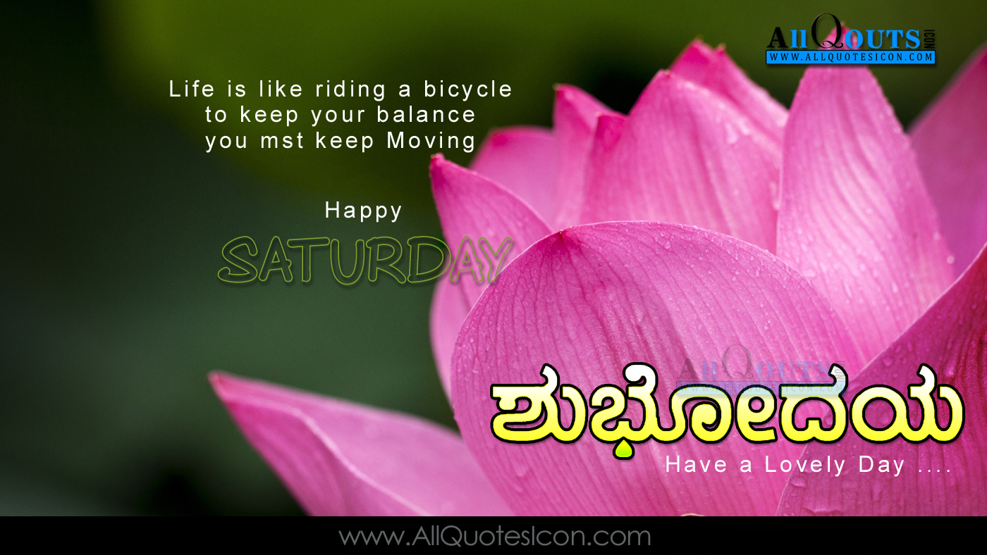Best Friend Quotes In Kannada Happy saturday images best kannada good morning quotes