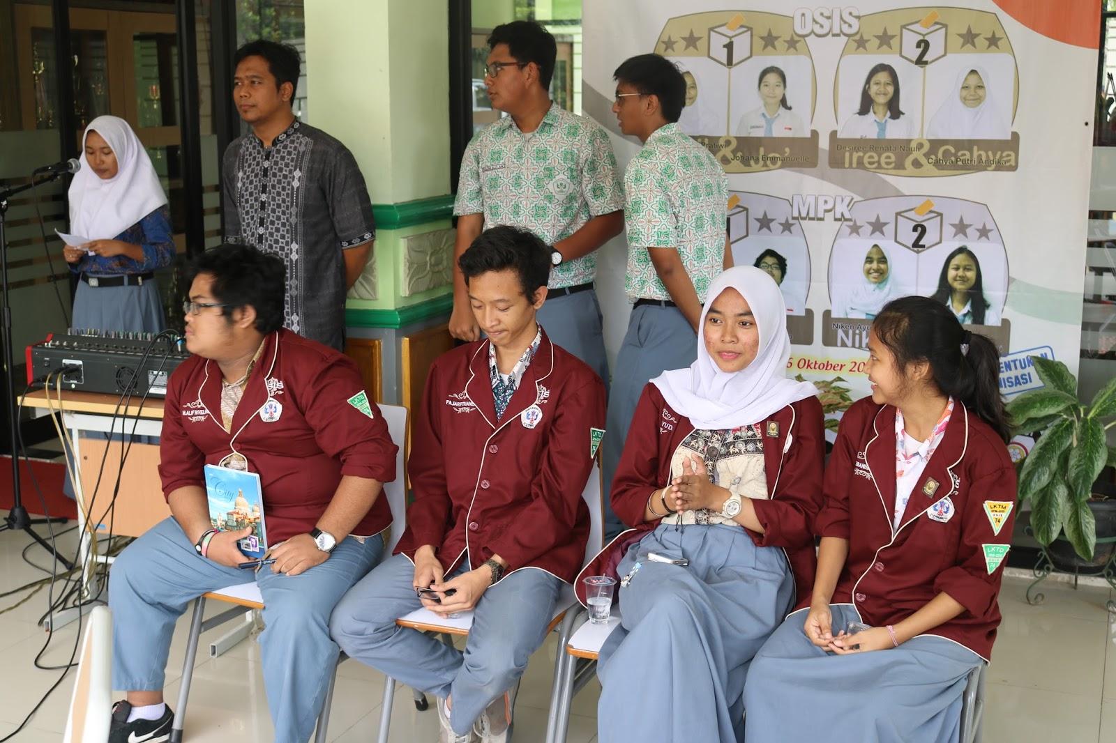 Sman 74 Jakarta Debat Calon Ketua Osis Dan Mpk