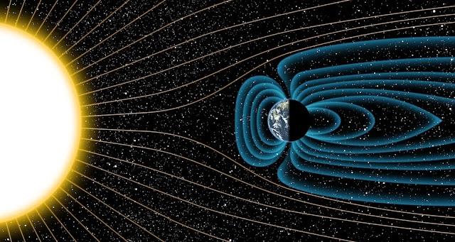 Η μαγνητική αλληλεπίδραση Γης - Ήλιου επηρεάζει καθοριστικά τον διαστημικό «καιρό»