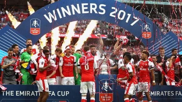 Arsenal juara FA Cup musim kompetisi 2016/2017