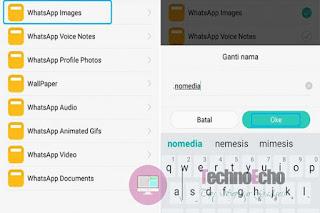 cara agar gambar whatsapp tidak tersimpan otomatis di galeri hp android