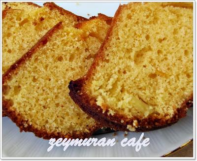 greyfurtlu zeytinyağlı kek
