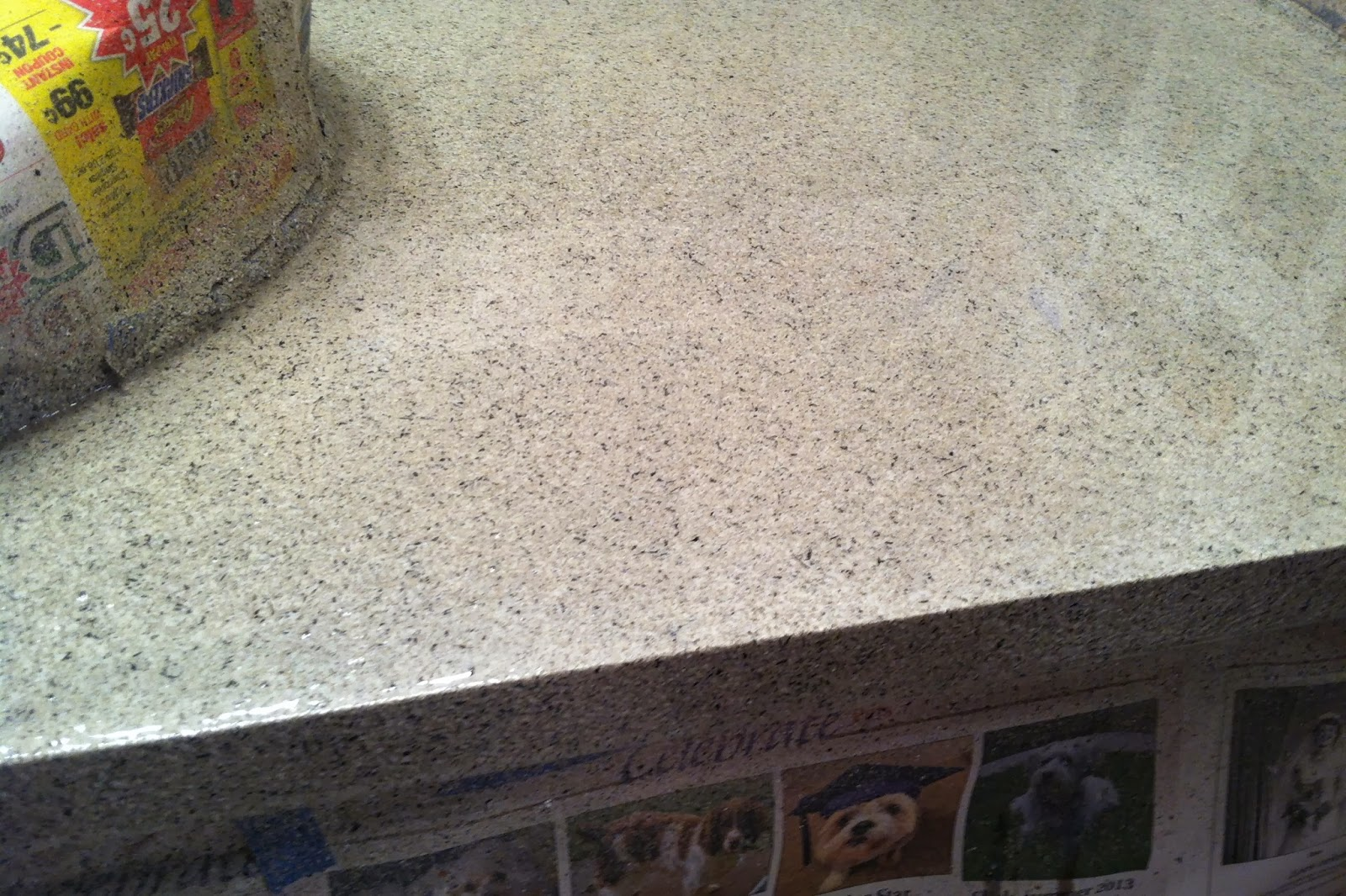 Textured Granite Countertops Diy Why Spend More Stone Effects Spray Paint On Countertops