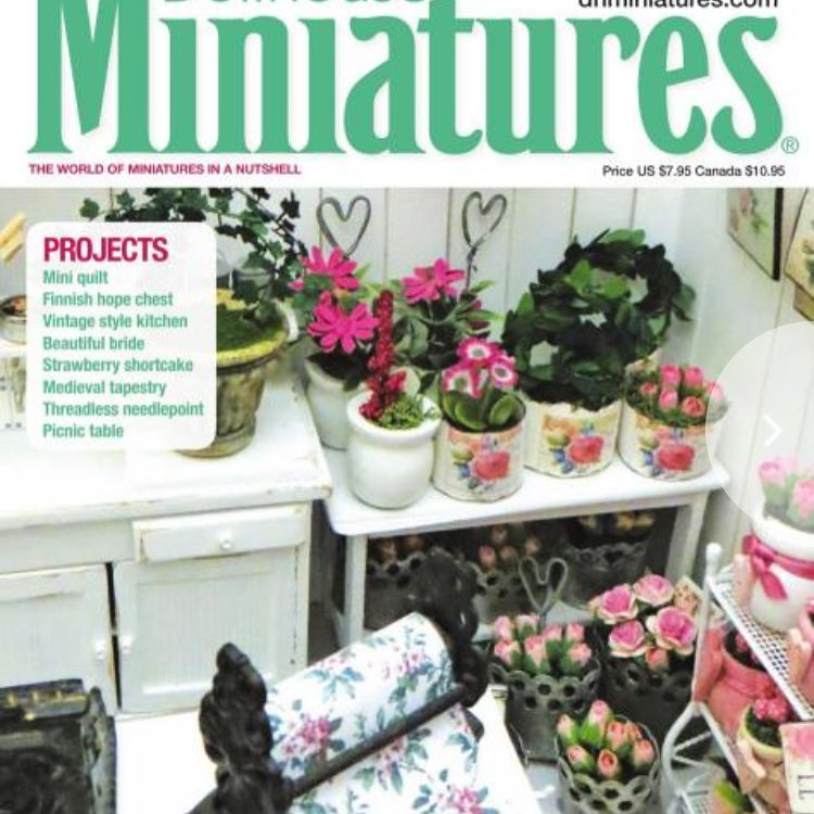 My flowershop on the cover!