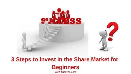 3 Steps to Invest in the Share Market for Beginners
